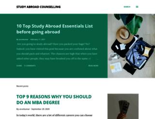 studyabroadcounselling.blogspot.in screenshot