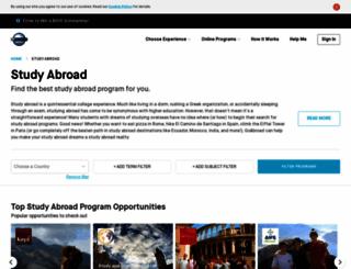 studyabroaddirectory.com screenshot