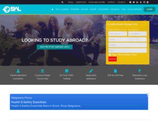 studyabroadlife.org screenshot