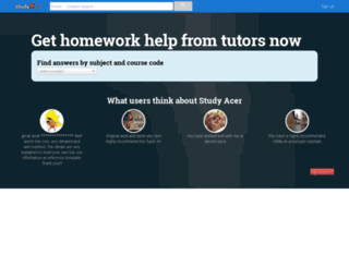 studyacer.com screenshot