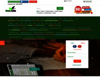 studyadda.com screenshot