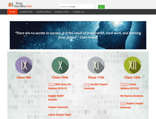 studycbsenotes.com screenshot