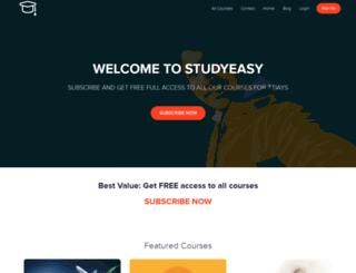 studyeasy.usefedora.com screenshot