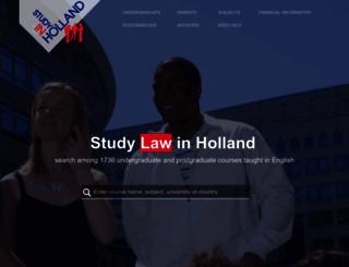studyinholland.co.uk screenshot
