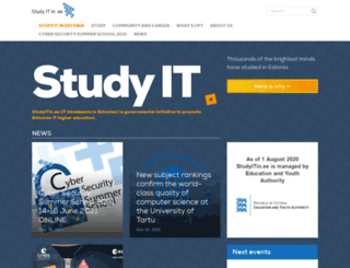 studyitin.ee screenshot