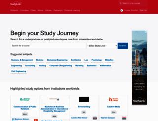 studylink.com screenshot