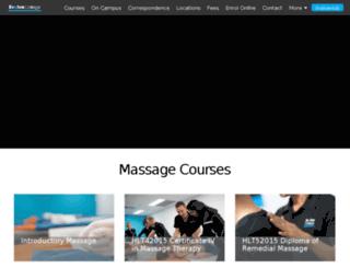 studymassage.com.au screenshot