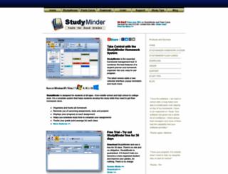 studyminder.com screenshot