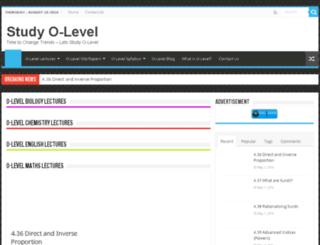 studyolevel.com screenshot