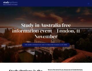 studyoptions.com screenshot