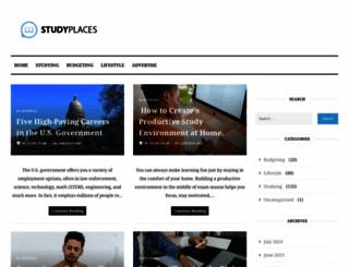 studyplaces.com screenshot