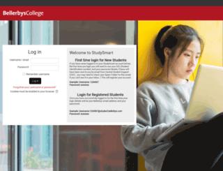 studysmart.bellerbys.com screenshot