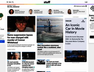 stuff.co.nz screenshot