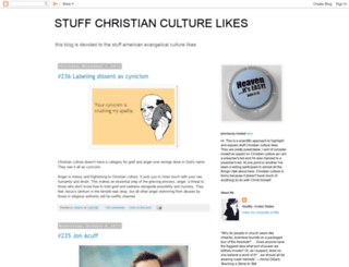 stuffchristianculturelikes.com screenshot