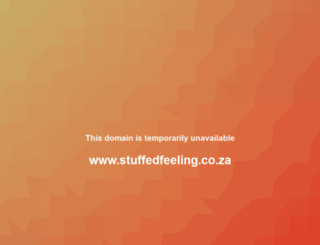 stuffedfeeling.co.za screenshot