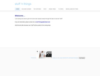 stuffnthing.weebly.com screenshot