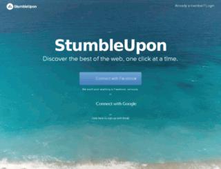 stumbleupon.net screenshot