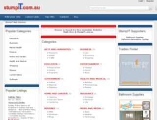 stumpit.com.au screenshot