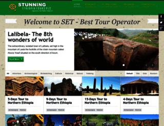 stunningethiopiatours.com screenshot