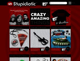 stupidiotic.com screenshot