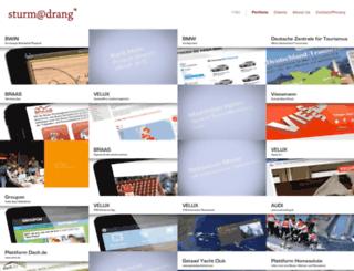 sturm-drang.com screenshot