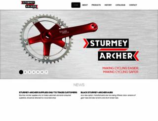 sturmey-archer.com screenshot
