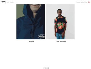 stussy.com.tw screenshot