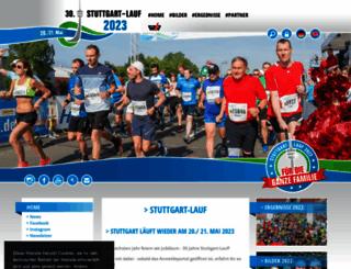stuttgart-lauf.de screenshot