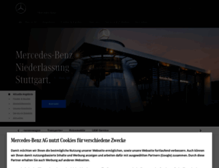 stuttgart.mercedes-benz.de screenshot