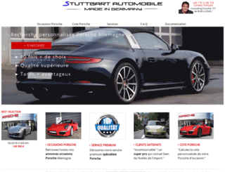 stuttgartautomobile.fr screenshot