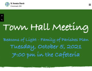 stveronica.org screenshot