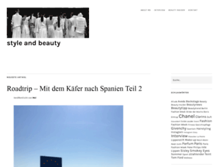 style-and-beauty.com screenshot