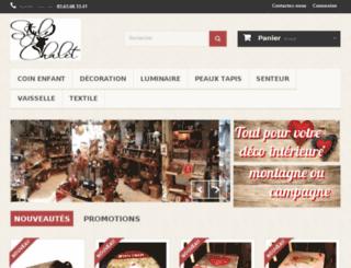 style-chalet.com screenshot