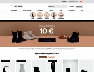 style.justfab.es screenshot