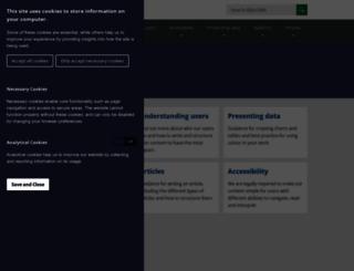 style.ons.gov.uk screenshot