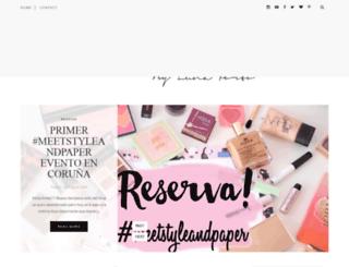 styleandpaper.blogspot.com.es screenshot
