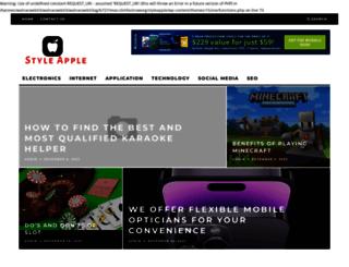 styleapple.com screenshot