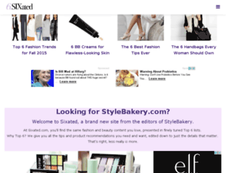stylebakerymom.com screenshot