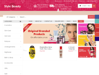 stylebeauty.pk screenshot