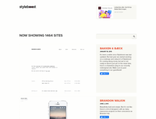 styleboost.com screenshot