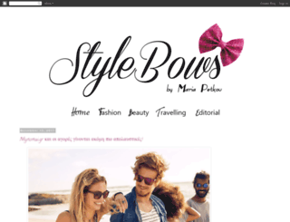 stylebows.blogspot.it screenshot