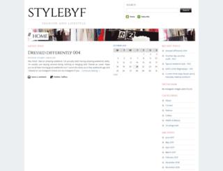 stylebyf.wordpress.com screenshot