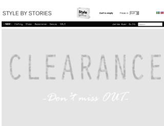 stylebystories.com screenshot