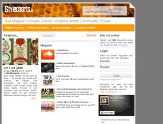 stylecharts.de screenshot