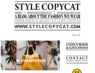 stylecopycat.blogspot.com screenshot