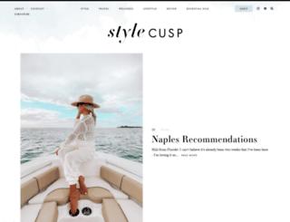 stylecusp.com screenshot