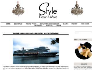 styledecordeals.com screenshot