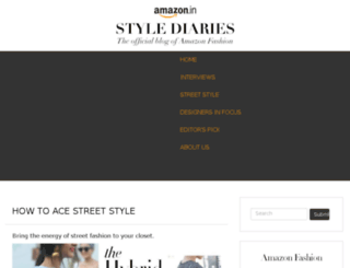 stylediaries.in screenshot
