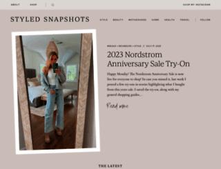 styledsnapshots.com screenshot