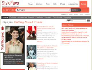 stylefavs.com screenshot